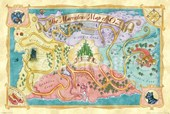 The Marvellous Map of Oz The Widard of Oz