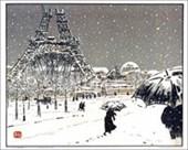 Eiffel Tower Henri Riviere