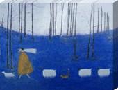 Tiptoe through the bluebells Sam Toft