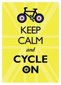 Keep Calm & Cycle On Keep Calm & Carry On