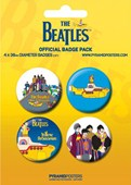 The Beatles: Yellow Submarine The Beatles Button Badge Pack
