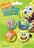 Spongebob Squarepants Spongebob Button Badge Pack