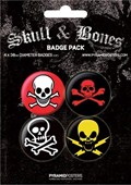 Skull and Bones Skull Badge Pack