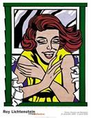 Girl At Window By Roy Lichtenstein