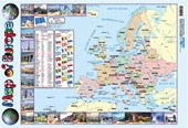 Map Of Europe Educational Map