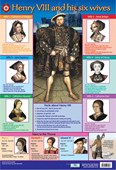 Henry VIII and his Six wives Educational Children's Chart