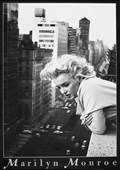 Marilyn Monroe on the Balcony Marilyn Monroe