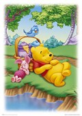 Piglet & Pooh Sleeping after Hunny A. A. Milne 's Winnie the Pooh