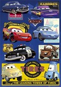 Cars: 7 Character Collage Cars: The Movie