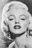 Love - Black and White Marilyn Monroe
