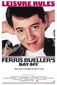 Ferris Bueller's Day Off Comedy Movie Score Sheet
