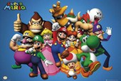 Mario and Cast Super Mario