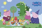 Princess Picnic Peppa Pig