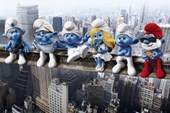 Smurfs on a Girder The Smurfs
