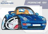 Graffiti Style Porsche 911 Kool Art Supercars