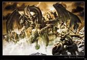 Attacking Dragon The Black Dragon