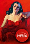 Red Dress Coca-Cola
