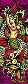 Mermaid By Don Ed Hardy