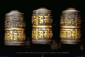 Simplicity, Patience and Compassion Prayer Wheels