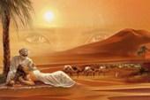 Romantic Desert Arabian Landscape