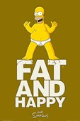 Fat and Happy! Homer Simpson
