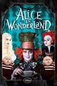 Character Collage Tim Burton's Alice in Wonderland