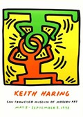 Drawing for Headstand, 1988 Keith Haring