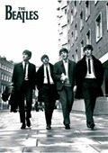 Beatles In London, Black and White Photo The Beatles