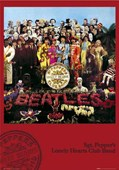 Sgt. Pepper's Lonely Hearts Club Band Album Cover The Beatles