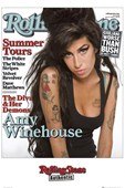 The Diva and her Demons Amy Winehouse Rolling Stone Cover