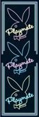 Three Neon Playmates Playboy