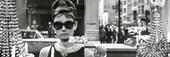 Audrey Hepburn is Holly Golightly Breakfast at Tiffanys