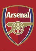Arsenal, The Gunners Club Badge Arsenal Football Club