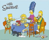 A Typical Family Breakfast The Simpsons