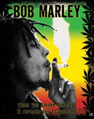 Smoking The Herb Bob Marley