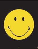 Yellow Smiley Face Smiley