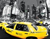 Rush Hour in Times Square New York City