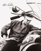 Motorcycle King Elvis Presley