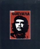 Red Che Guevara Revolutionary Icon Matted Print