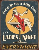 Ladies Night Retro Humour
