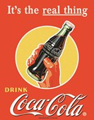 Its The Real Thing Coca Cola