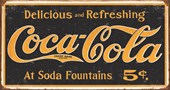 Coca Cola Logo Vintage Advertisement