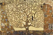The Tree Of Life, Stoclet Frieze (1909) Gustav Klimt