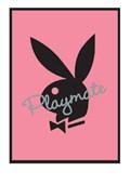 Pink Bunny Logo Playboy Playmate