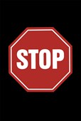 Stop Sign College Rules