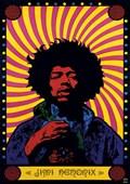 Psychedelic Jimi Hendrix