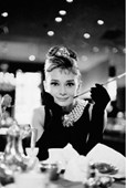 Audrey Hepburn is Holly Golightly Breakfast at Tiffany's