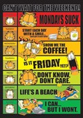 Days of the Week Garfield