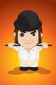 Cartoon Alex A Clockwork Orange