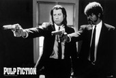 Vincent Vega and Jules Winnfield Pulp Fiction